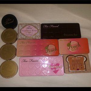 Too faced makeup bundle
